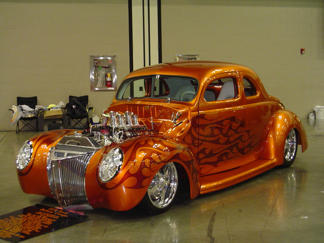 39 Ford Coupe Hot Rod